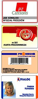 Personalizacja kart